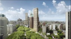 Rendering of Brooklyn Public Library development in Brooklyn Heights. Image credit: Marvel Architects