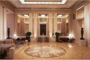 Waldorf-Astoria Interior. Image Credit LPC.