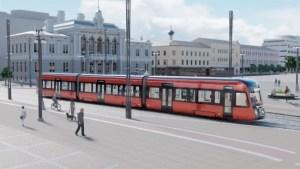 Tampereen Ratikan neljäs vaunu saapuu ja lajinsa ensimmäinen lähtee