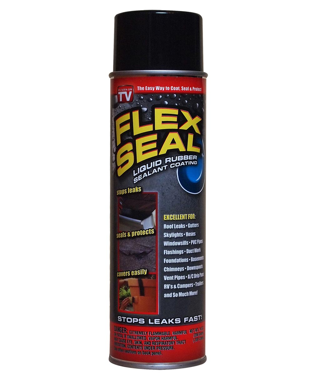 14 oz flex seal spray liquid rubber sealant coating black