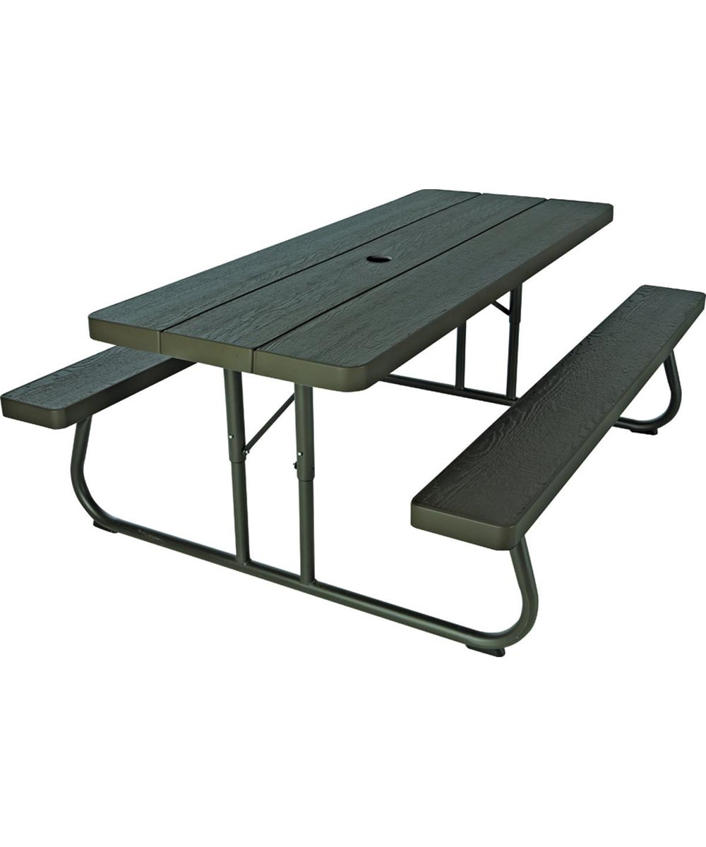 lifetime products 6 foot folding picnic table