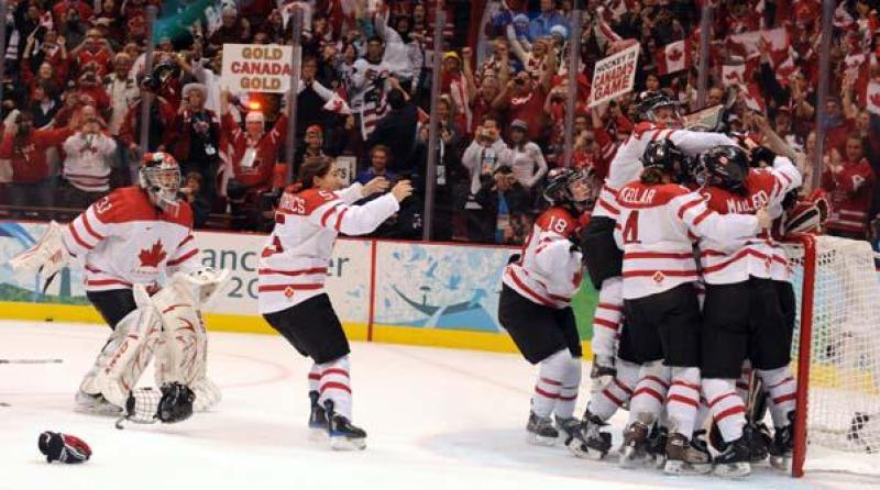 Image result for canadian women playing hockey