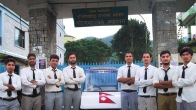 Photo of WRC Pokhara students make solar car