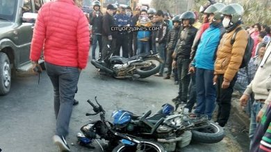 Photo of Two injured in an accident at Bijaypur