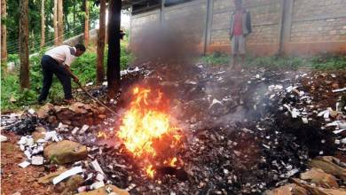 Photo of DPHO sets on fire date expired medicines