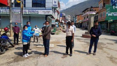 Photo of नेपाल पत्रकार महासङ्घ गण्डकीद्वारा बागलुङ, पर्वत, म्याग्दी र मुस्ताङका पत्रकारलाई सुरक्षा सामग्री प्रदान