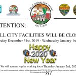 All City Facilities Closed