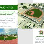 Adams Park Update Public Notice