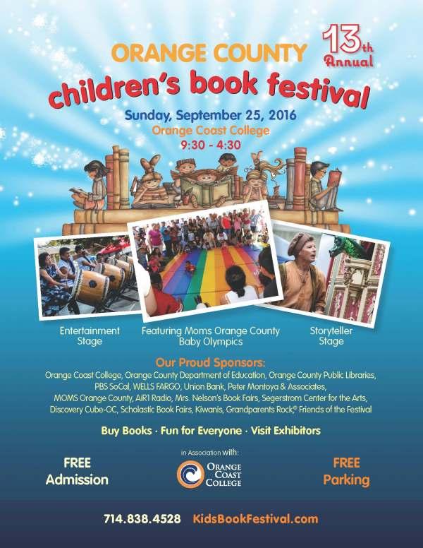 Orange County Children's Book Festival – City of Costa ...