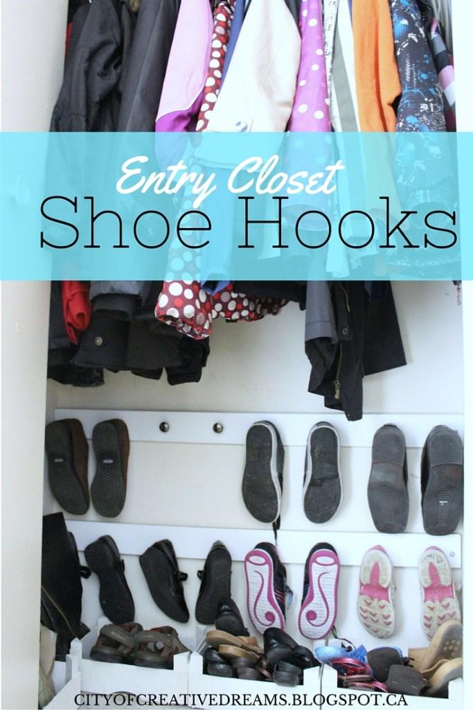 diy shoe organizer