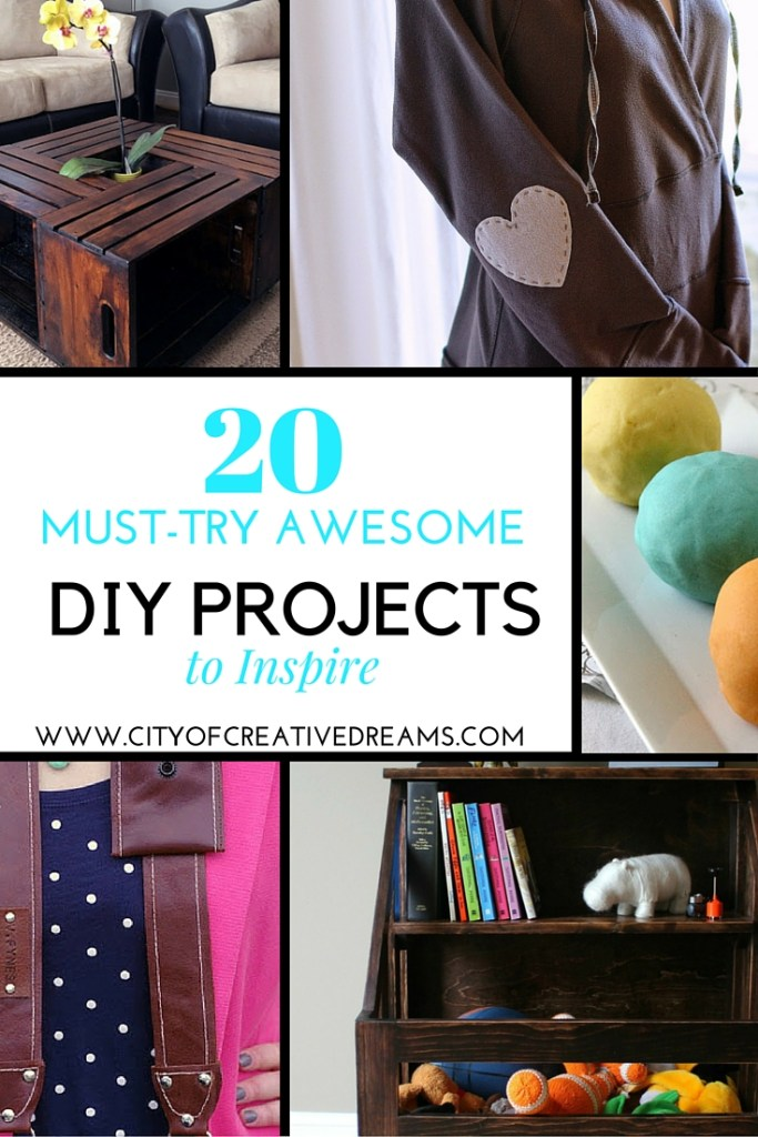 20 Must-Try Awesome DIY Projects to Inspire | City of Creative Dreams