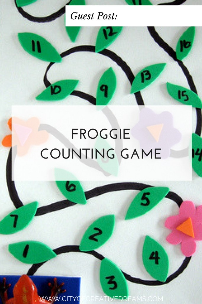 Froggie Counting Game | City of Creative Dreams