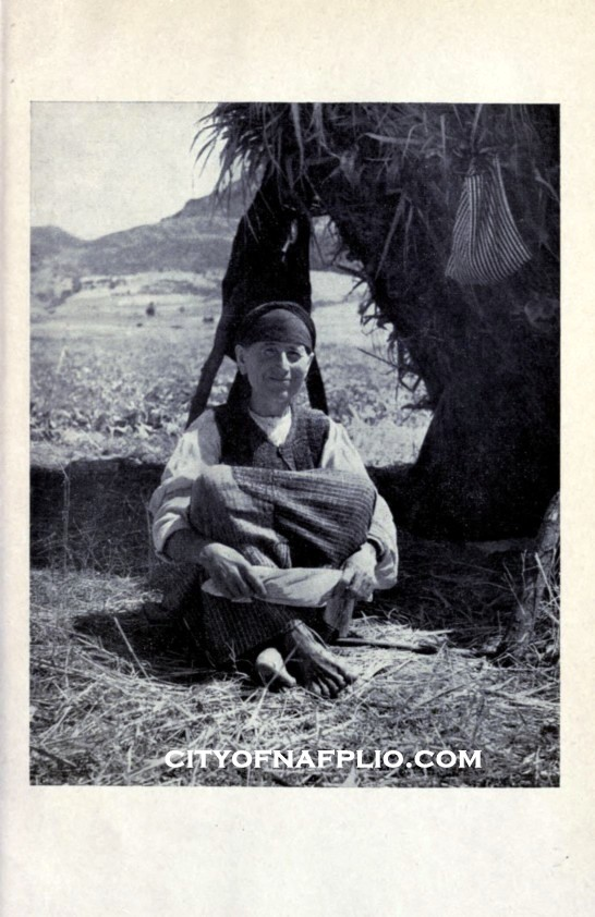 a peasant woman from the argive countryside