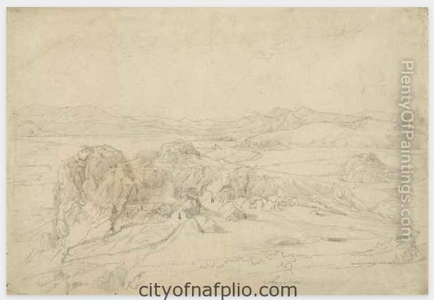 Ludwig-Lange_Blick-Auf-Argolis-Bei-Tyrius-In-Griechenland