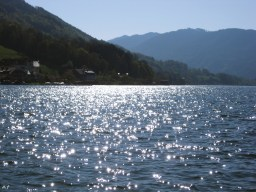 sparkling water of mondsee