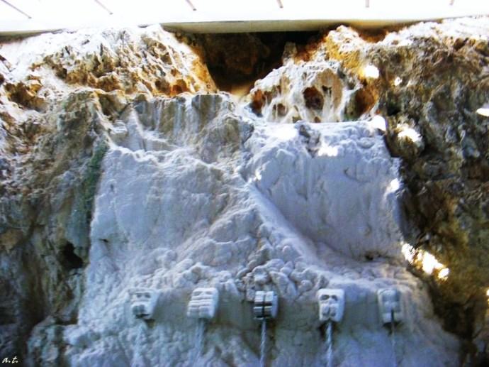 cave walls