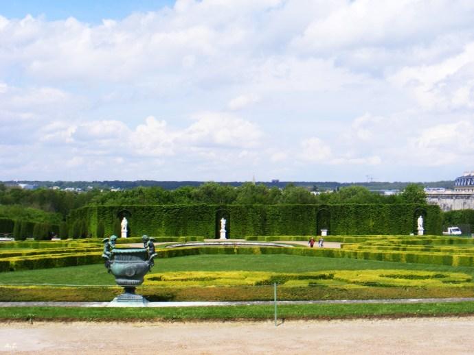 les jardines de Versailles