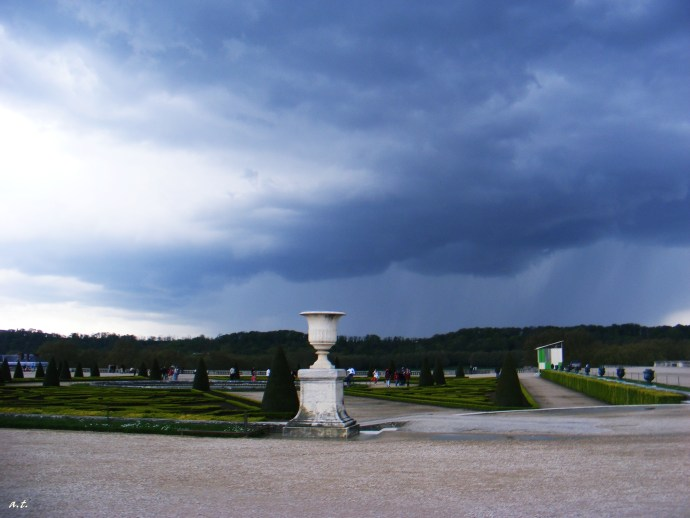 Versailles before the storm