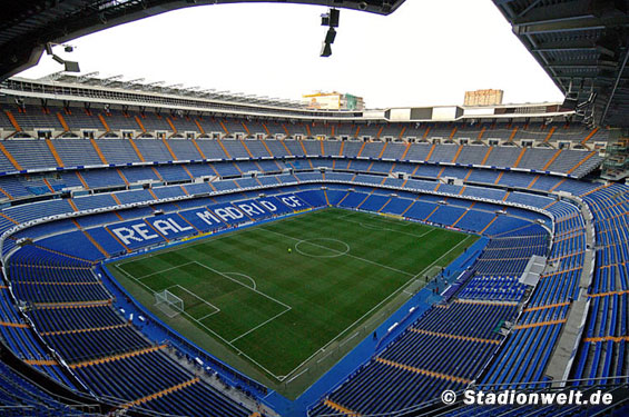 Santiago Bernabeu stadium (photo from the internet)