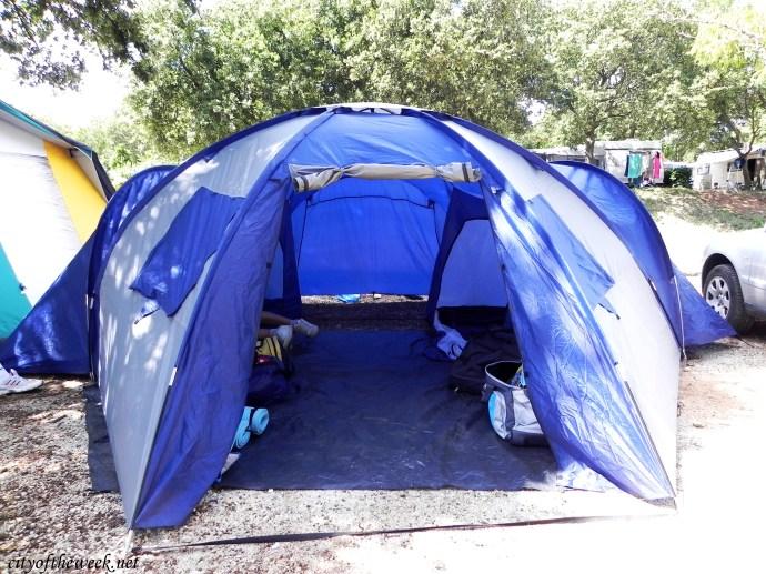 our humble little campsite in Porec