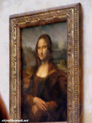the famous Mona Lisa