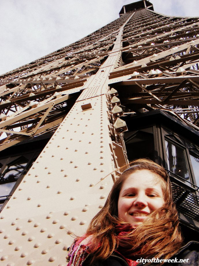 in the middle of Eiffel