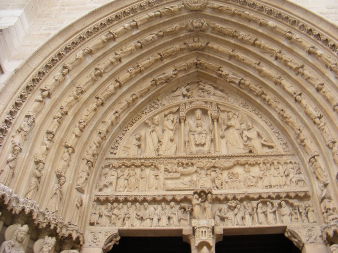 Gothic elements of the Notre Dame