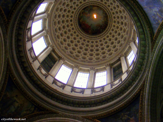 The cupola of the Pantheon