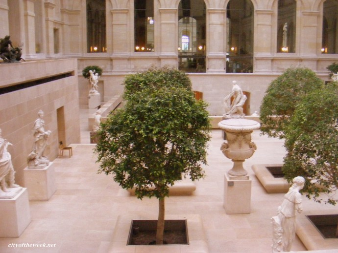 my favorite place in the Louvre