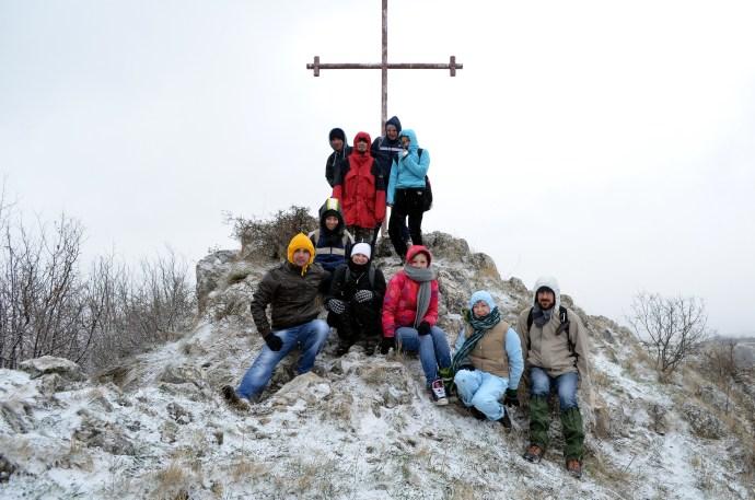 "the ""cross team"" :)"