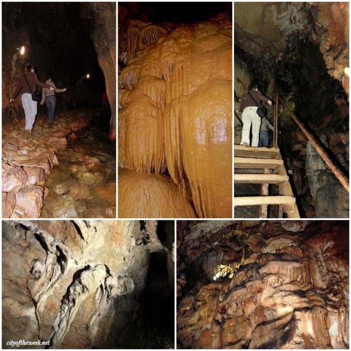 inside Zichy cave