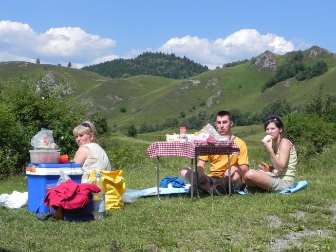 picnic in the middle of nowhere