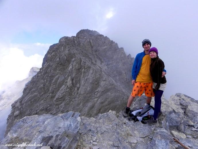 and before we know it, we were at Skala Peak (2866 m)