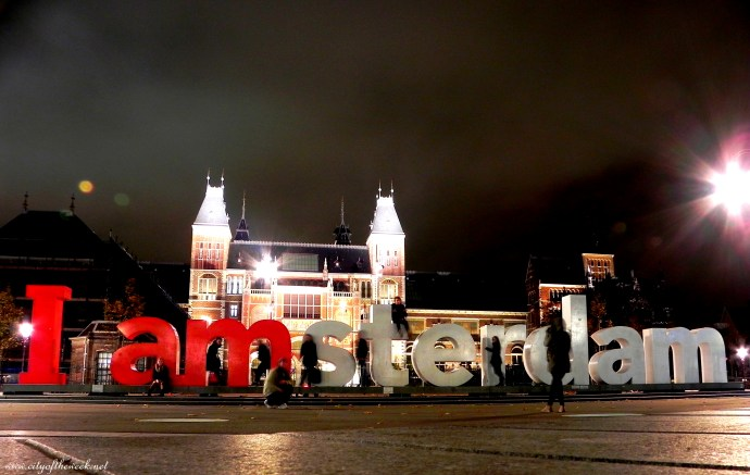 we're Amsterdam! - yes, the shadows..
