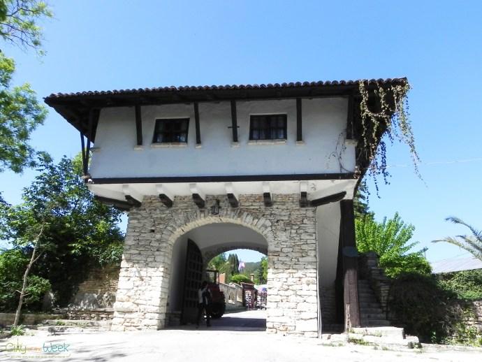 Entrance to the Botanical Gardens of Balchik