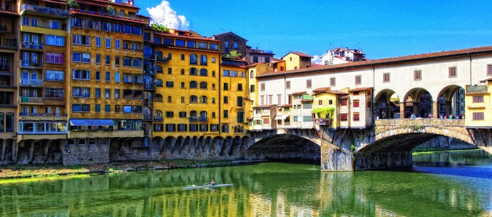 Ponte Vecchio - image via Flickr by Justin Brown
