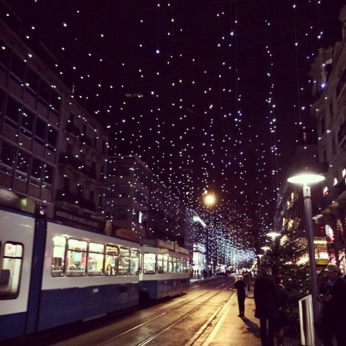 Bahnhofstrasse - photo by Melanie Zahnd via Trover