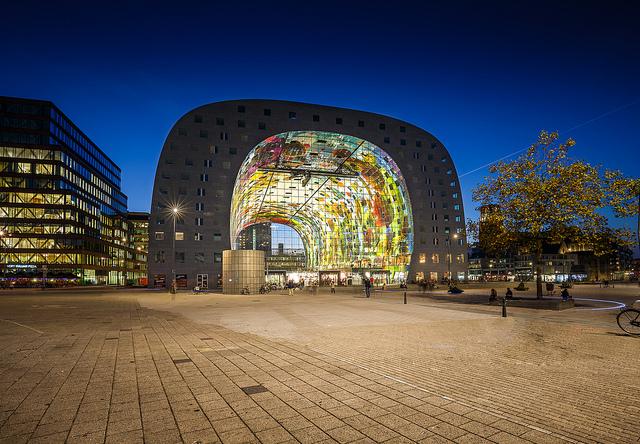 Rotterdam - image via Flickr by Tom Roeleveld