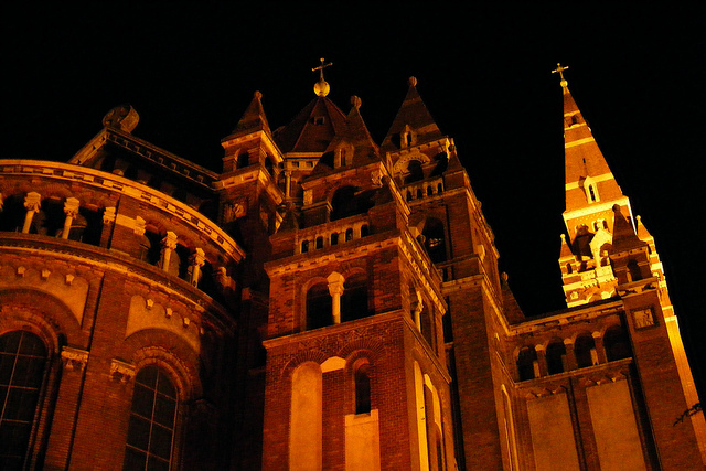 Szeged Cathedral - image via Flickr by HatM
