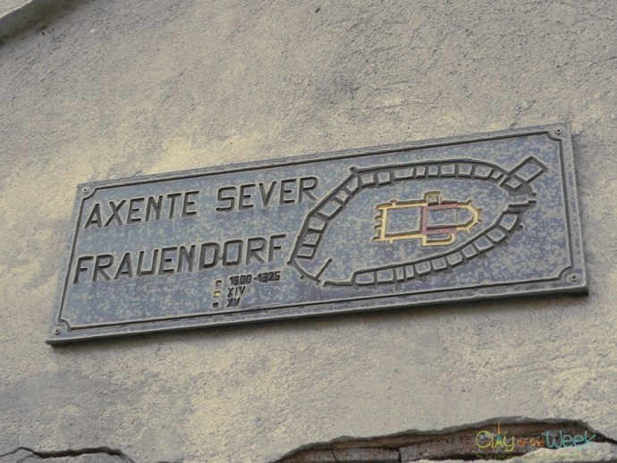 signpost of Axente Sever