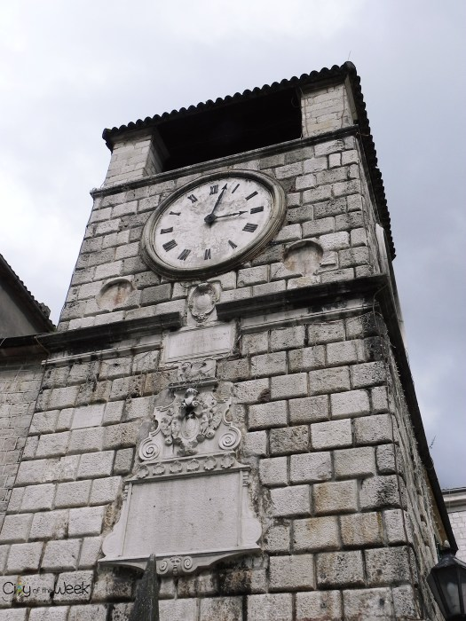 Clock tower in Kotor Old Town
