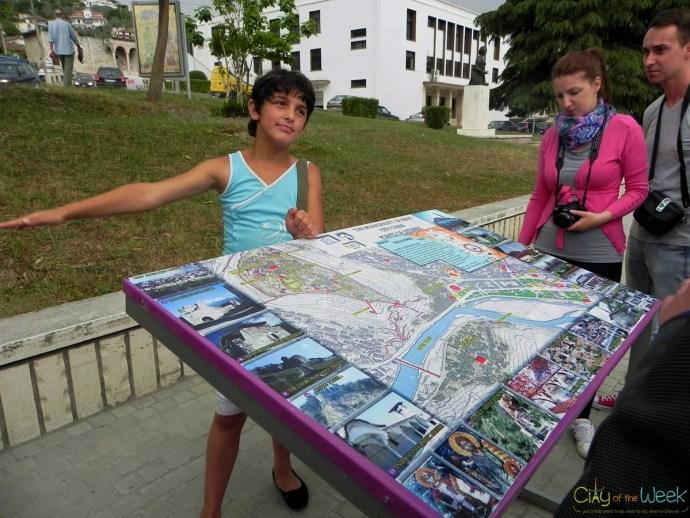 volunteer guide in Berat, Albania