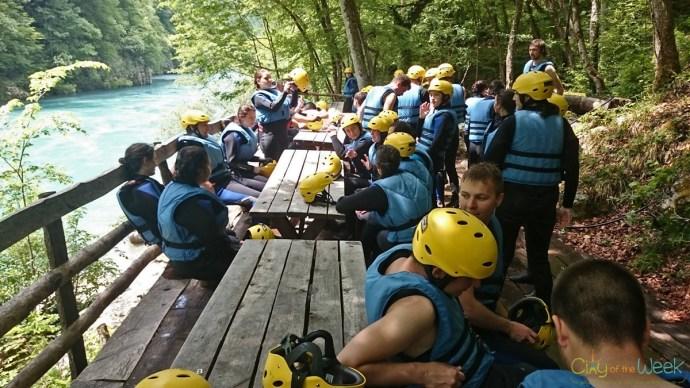 Tara Rafting Chill Zone