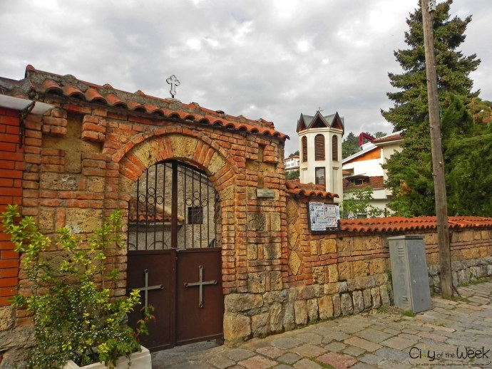 entrance to the Church of St. Sophia