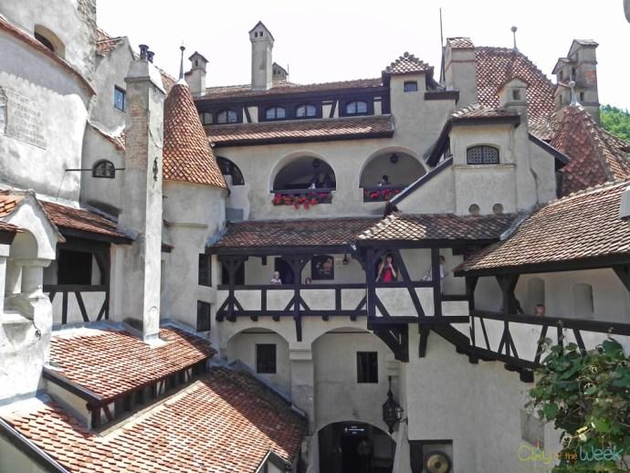 Interior Courtyard, Bran Castle