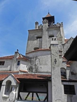 Bran Castle Facade from Inside