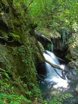 Vaioaga Falls, Nera Valley, Romania