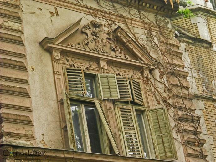 Windows of Novi Sad, Serbia