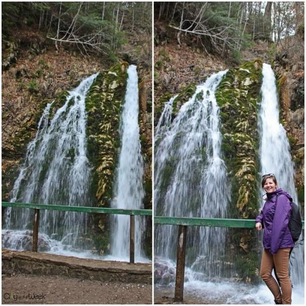 Urlatoarea Falls, Bucegi Mountains
