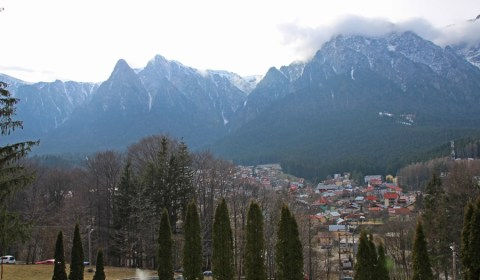 View from Cantacuzino Castle, Busteni
